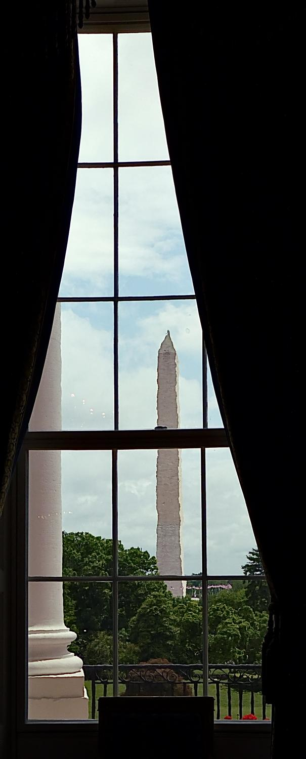 - The Washington Monument as seen from one of the rooms on the State Floor of the White House. - Panasonic DMC-FZ35 - White House = President Barak Obama - Tony Karp, design, art, photography, techno-impressionist, techno-impressionism, aerial photography , drone , drones , dji , mavic pro , video , 3D printing - Books -