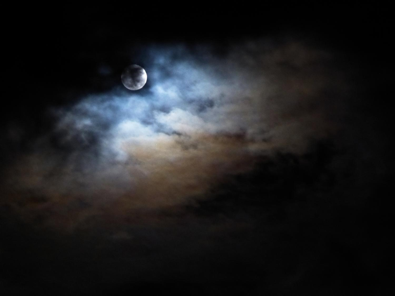 - The moon on a cloudy night.  - Panasonic DMC-ZS40 - Panasonic DMC-TZ60 - - Tony Karp, design, art, photography, techno-impressionist, techno-impressionism, aerial photography , drone , drones , dji , mavic pro , video , 3D printing - Books -
